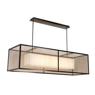 Crenshaw Lighting Layered Linear Pendant For Sale