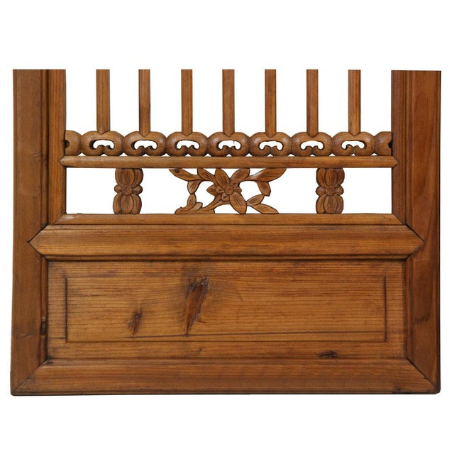 Chinese Antique Carved Window Shutters For Sale In Los Angeles - Image 6 of 8