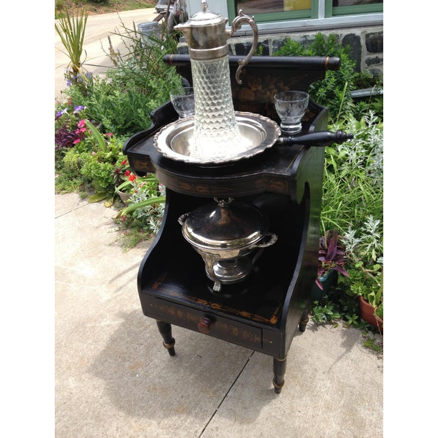 Pre-Civil War Hitchock Wash Stand For Sale - Image 5 of 8