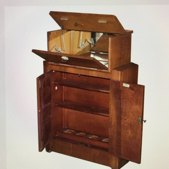 Art Deco English Wooden Liquor Bar by Sidney Lyons & Co. For Sale - Image 3 of 6