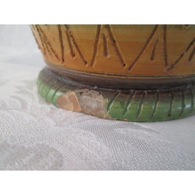 Italian Majolica Handled Vase - Image 9 of 9
