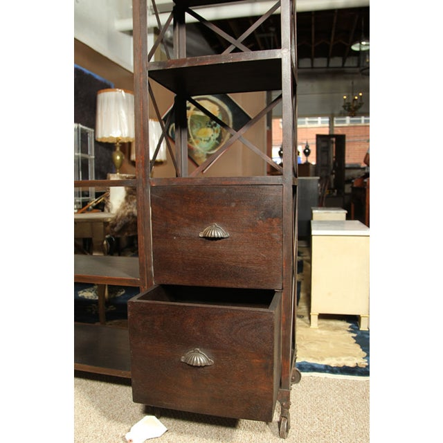 Entertainment Unit Made of Wood and Steel - Image 9 of 9
