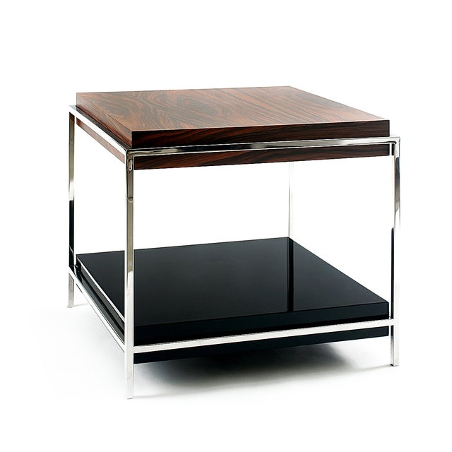 Mid-Century Modern Time Side Table From Covet Paris For Sale - Image 3 of 3