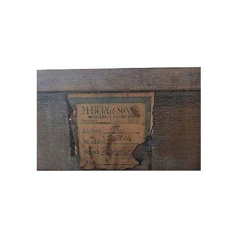 Caned Mahogany Console - Image 7 of 8