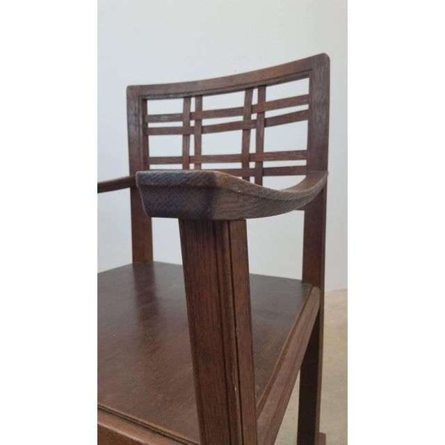 Early 20th Century Scottish Art and Crafts Chair For Sale - Image 5 of 9