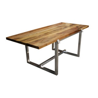 Costantini Donato Steel Framed Dining Table For Sale