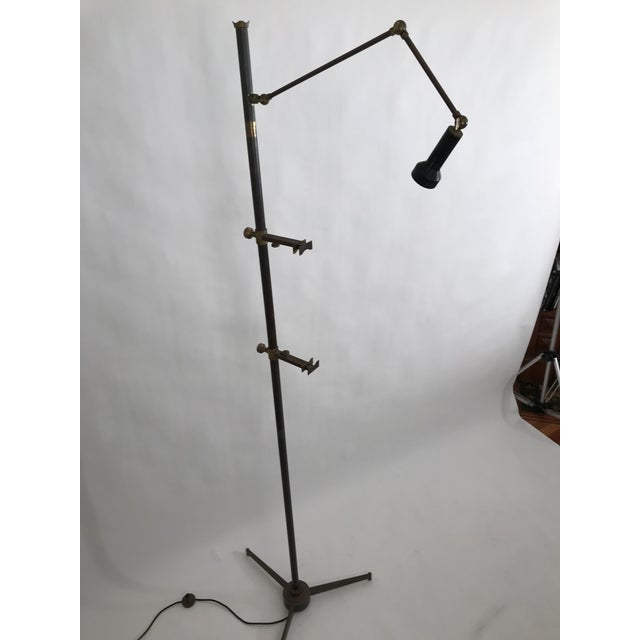 Arredoluce Easel Lamp Angelo Lelli For Sale In New York - Image 6 of 8