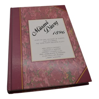 Miami Diary Hardcover Signed Book For Sale
