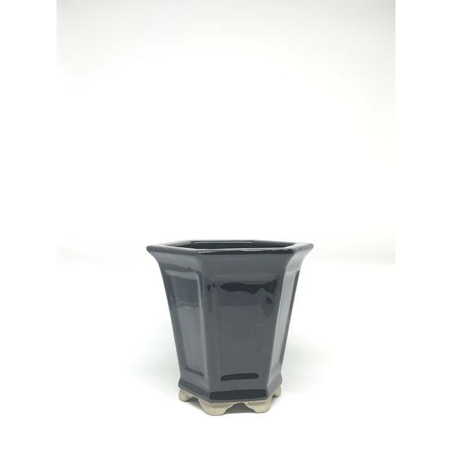 Vintage Hand-Glazed Asian Planter - Image 3 of 7