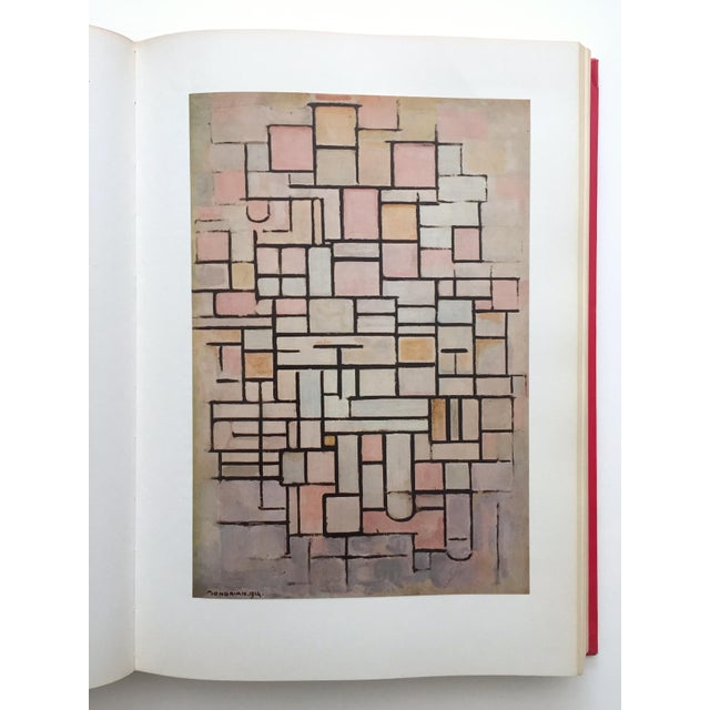 """"""" Piet Mondrian - Life and Work """" Rare Vintage 1956 1st Edtn Collector's Iconic Large Volume Lithograph Print Modernist Art Book For Sale In Kansas City - Image 6 of 13"""