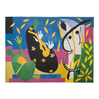 """Henri Matisse """"The Sorrows of the King"""" First German Edition Poster For Sale"""