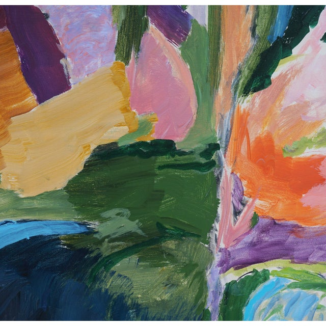 """2010s Abstract Landscape by Laurie MacMillan, """"Almost Somewhere"""" For Sale - Image 5 of 7"""