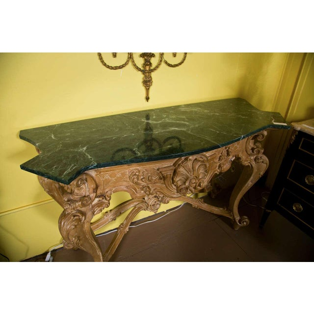 Baroque French Baroque Style Consoles by Jansen - A Pair For Sale - Image 3 of 7