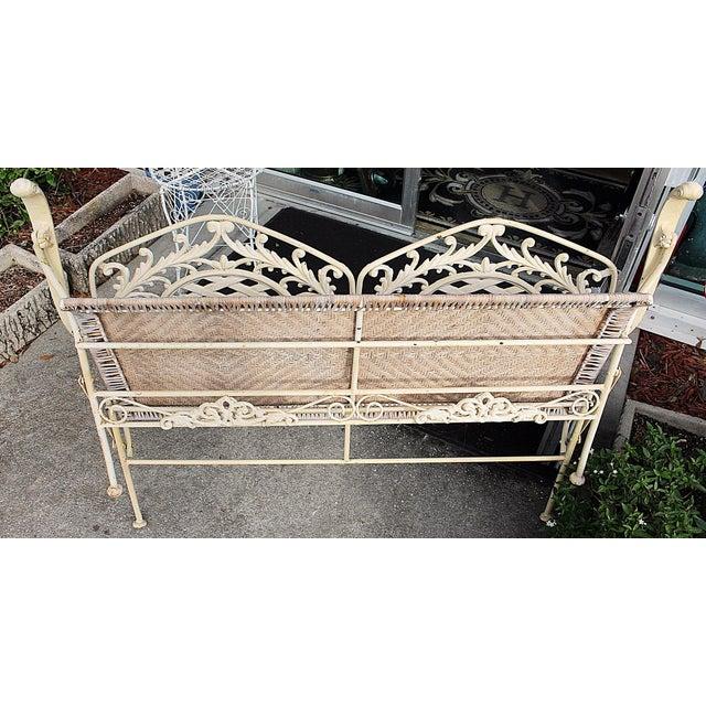 Folding Cast Iron Bench - Image 6 of 6