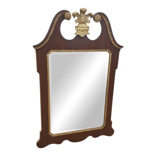 Large Wall Mirror Federalist Style by La Barge For Sale