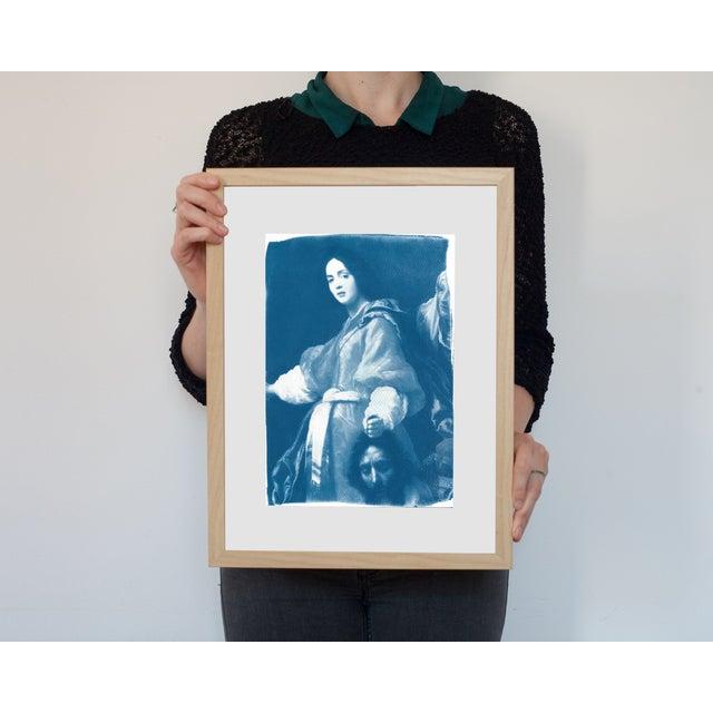 Cyanotype Print - Allori Painting of Judit - Image 3 of 4