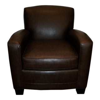 "Mitchell Gold + Bob Williams Leather ""Ellis"" Chair"