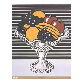 Roy Lichtenstein-Still Life with Crystal Bowl-2002 Poster For Sale