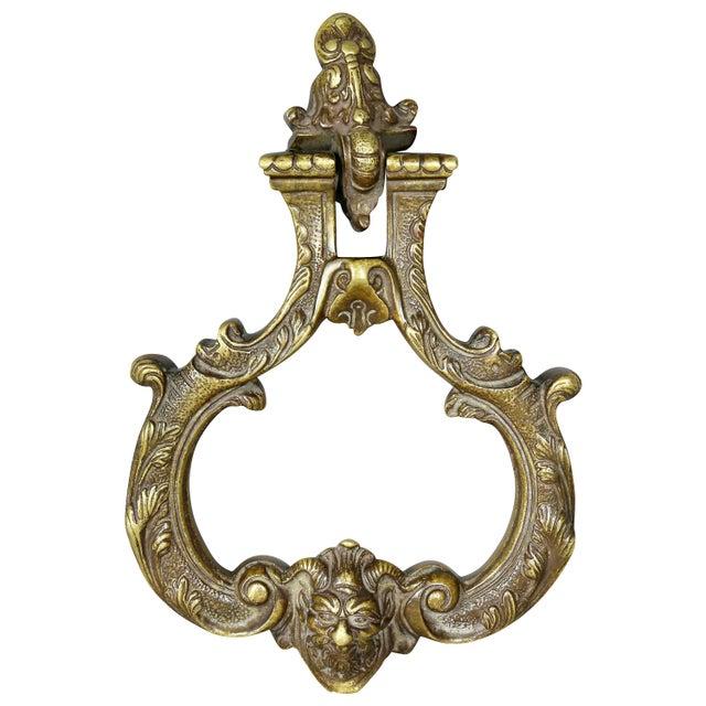 Italian Bronze Door Knocker For Sale In Boston - Image 6 of 6