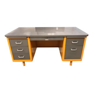 Mid-Century McDowell & Craig Tanker Desk For Sale
