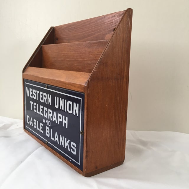 Western Union Telegraph & Cable Blanks Box For Sale - Image 4 of 12