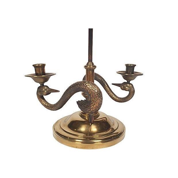 Swan Bouillotte Lamp - Image 3 of 6