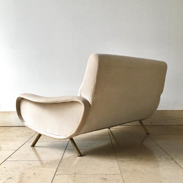 Marco Zanuso Early Marco Zanuso Designed Two Seater Sofa Circa 1950 For Sale - Image 4 of 10