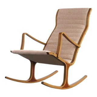 Heron Rocker Rocking Chair by Mitsumasa Sugasawa for Kosuga For Sale