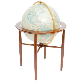 Replogle Illuminated Globe on Stand For Sale