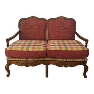 21st Century Vintage French Country Settee For Sale