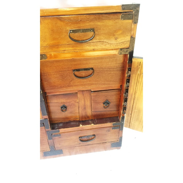 Korean Camphor Wood Cabinet - Image 6 of 11