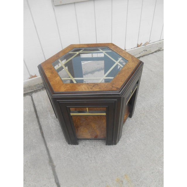 Mid-Century Modern Milo Baughman Style Coffee/ End Table Set - 2 Pc. For Sale - Image 9 of 11