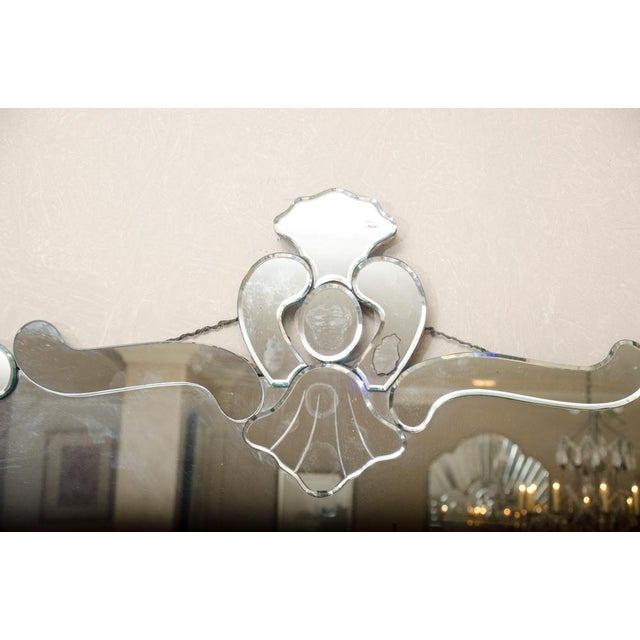 French Deco Style Mirror For Sale - Image 4 of 7