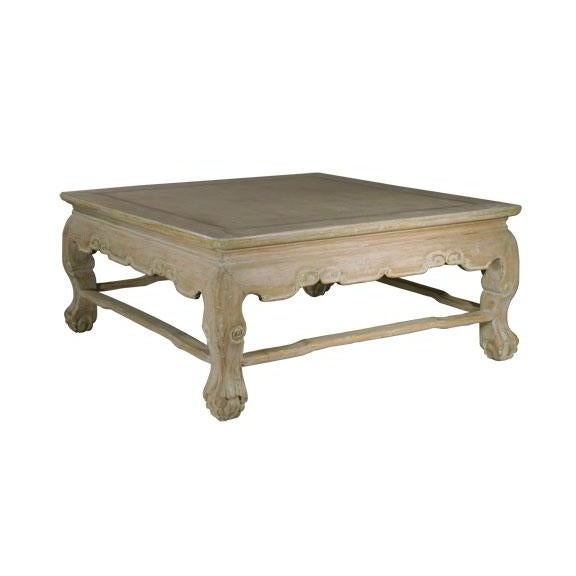 Rustic boho chic coffee table chairish for Coffee table 80 x 50