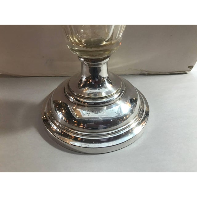Antique 19th Century Tall Silver Plated Wine Decanter Claret For Sale In Philadelphia - Image 6 of 8