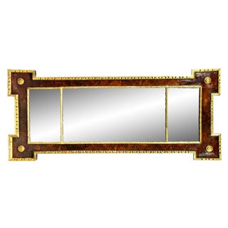 George I Style Walnut and Giltwood Mirror For Sale