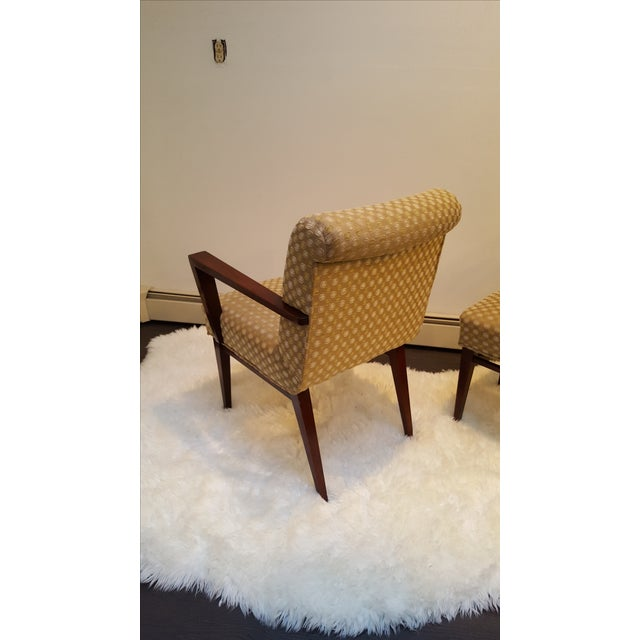Mid-Century Upholstered Dining Chairs - Set of 6 - Image 6 of 10