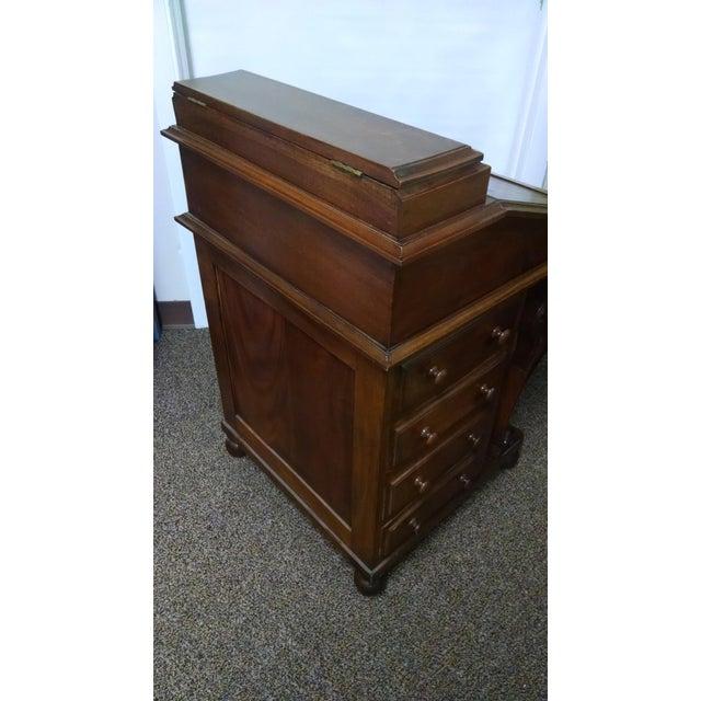 Davenport Captain's Writing Desk - Image 5 of 10