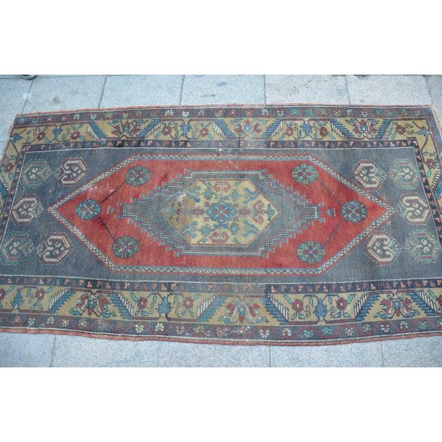 Anatolian Wool Turkish Rug - 3′4″ × 6′9″ For Sale - Image 4 of 6