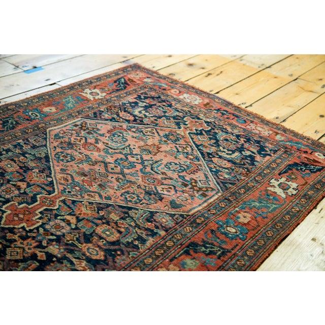 """Antique Persian Bijar Rug - 3'1"""" x 4'6"""" - Image 2 of 5"""