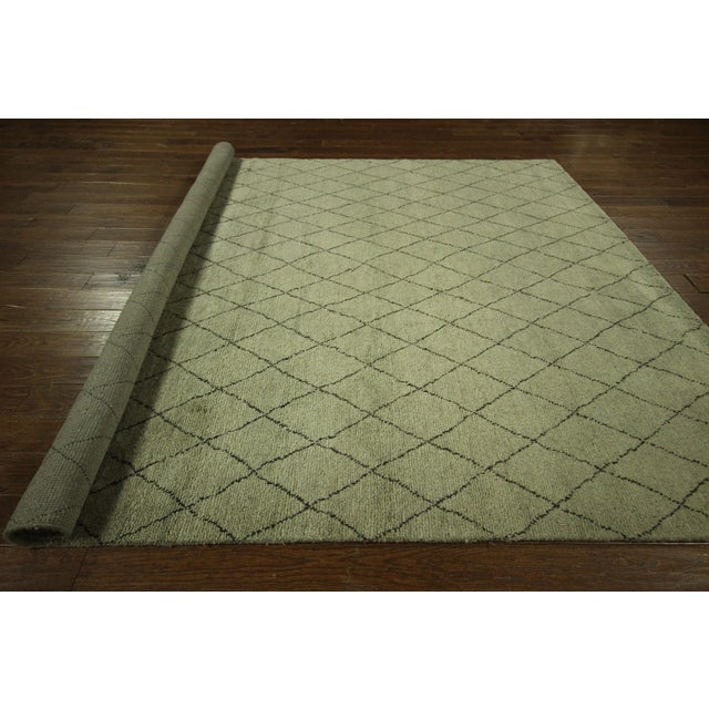 "Moroccan Berber Collection Rug - 8'1"" x 10' - Image 9 of 9"