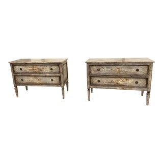 18th Century Swedish Gustavian Dressers - a Pair For Sale