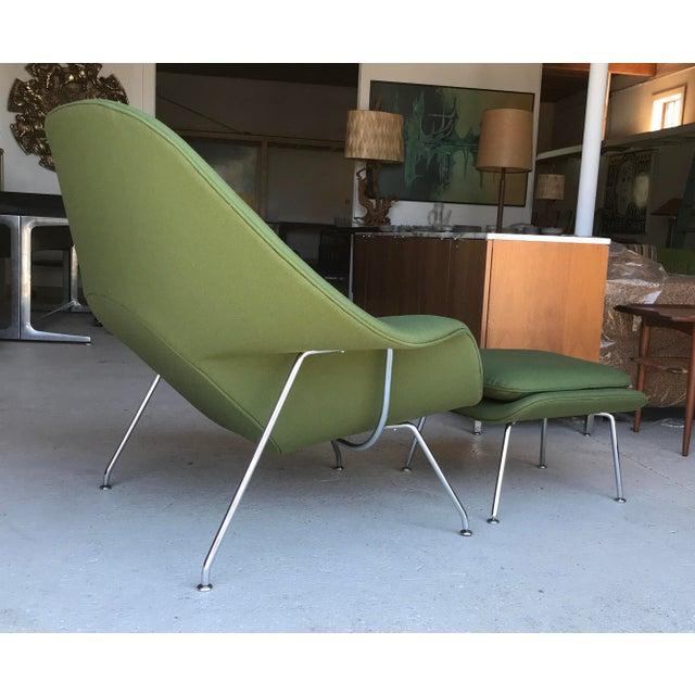 Mid-Century Modern Reupholstered! Knoll Womb Chair Ottoman Eero Saarinen For Sale - Image 3 of 13