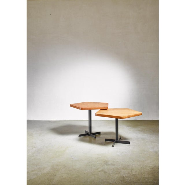Charlotte Perriand Charlotte Perriand Pentagonal Table, France, 1960s For Sale - Image 4 of 5