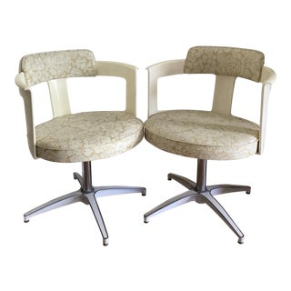 Mid Century Daystrom Furniture Tulip Chairs- a Pair For Sale