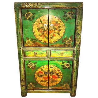 20th Century Chinese Scholars' Cabinet Armoire For Sale