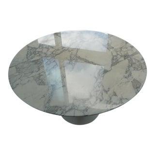 """Knoll Saarinen Calacatta 42"""" Round Dining Table"""