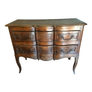 Louis XVI Style Country Serpentine Front Sauteuse