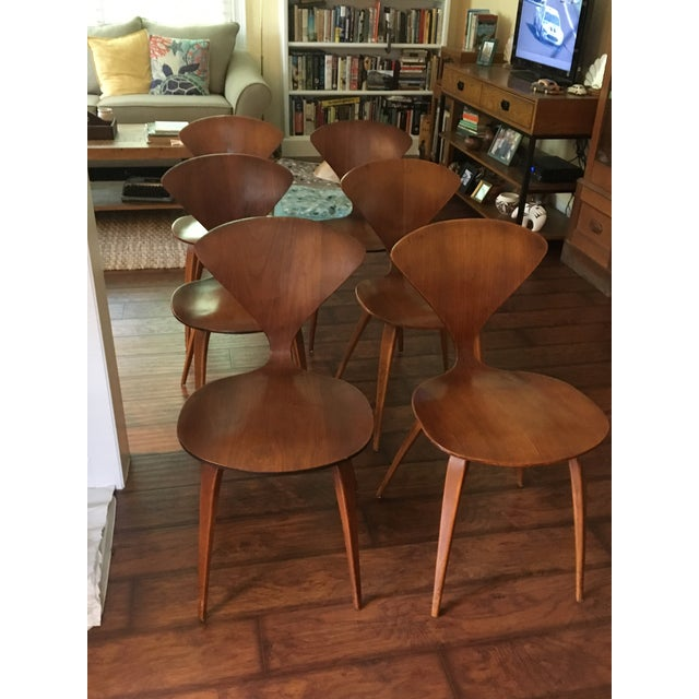Mid-Century Modern Norman Cherner for Plycraft Chairs - Set of 6 - Image 2 of 7