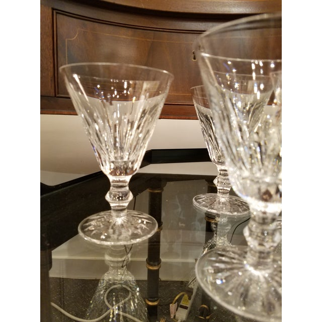 Vintage Irish Waterford Crystal Wine Glasses - Set of 8 ...